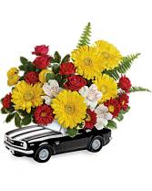 67 Chevy Camaro Bouquet all around arrangement