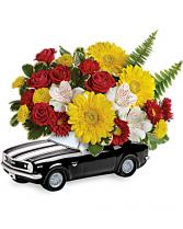 '67 Chevy Camaro Bouquet Floral Arrangement