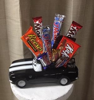 ' 67 Chevy Camaro Candy Arrangement