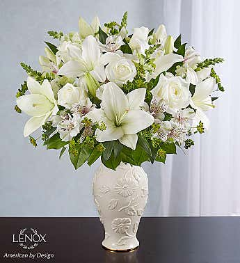 Loving Blooms Lenox White