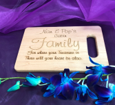 6x9 cutting board Personalized engraved gift