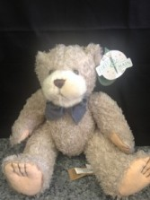 "7"" Blue Bow Bear"