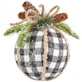 """7"""" Checked Ornament"""