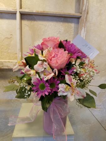 #7 Garden Rose arrangement