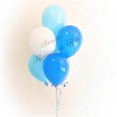 7 Mix Colour Latex Balloon Bouquet Latex Balloon Bouquet