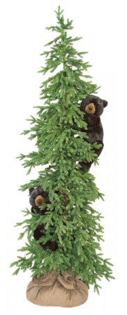 "72"" PreLit Artificial Bear Tree in Vernon, NJ 