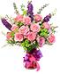 Young Love Vase Arrangement