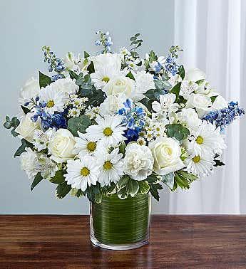 Cherished Memories Blue & White