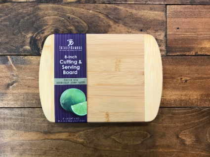 8 Inch Bamboo Cutting & Serving Board