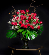3 Doz Luxe Love Red Roses or Any Color Roses