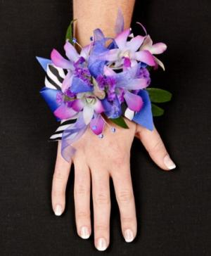 POSH PURPLE ORCHIDS Prom Corsage in Ozone Park, NY | Heavenly Florist
