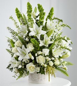 Memories of You All white premium flowers