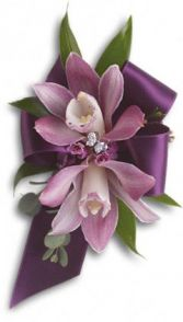 EXQUISITE ORCHID CORSAGE Corsage