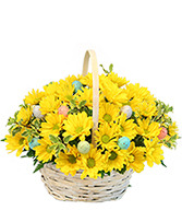Easter Egg-spression Basket Arrangement