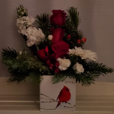 8FR000080 Christmas Cards Arrangement