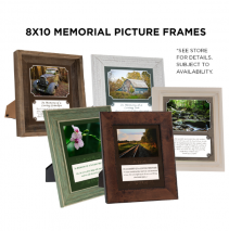 8x10 Memorial Picture Frames Gift Item