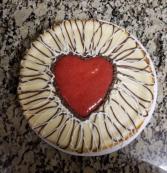 9 inch round cheese cake
