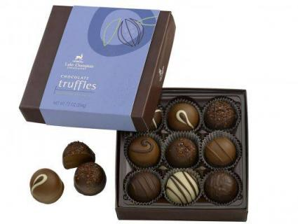 Large 9pc Truffles Lake Champlain Chocolates