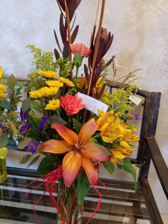 #9 Royal Sunset lilies