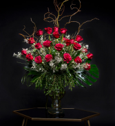 24 Roses Big & Showy Red Roses or Any Color Roses