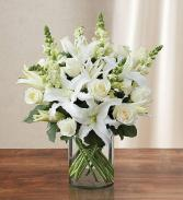 90303L Classic All White Arrangement