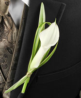 CLASSY CANDLELIGHT Prom Boutonniere
