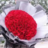 99 stems roses