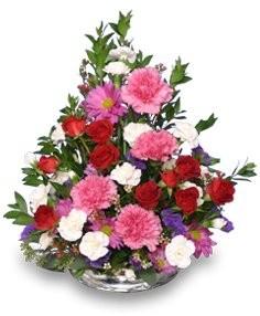 FLORAL HUGS 'N KISSES  Flower Arrangement
