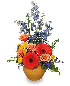High Style Blooms Arrangement