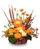 DELTA HARVEST SUNSET Floral Arrangement