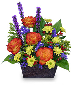 FLORAL FELICITY Arrangement in Ripley, TN | MONT'S FLOWERS & GIFTS