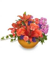 FALL KALEIDOSCOPE Floral Arrangement