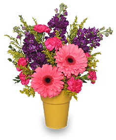 Happy-Go-Lucky Garden Flowers to Say Thank You in Corning, CA | ANNIE'S GARDEN FLORIST