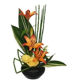 Artistic Tribute Floral Arrangement