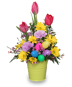 EASTER PRAISE BOUQUET Spring Flowers in Sheridan, WY | BABES FLOWERS, INC.