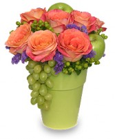 Fruit & Flower Garden Arrangement