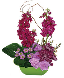 High-Society Flower Arrangement