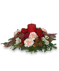 CHRISTMAS CELEBRATION Holiday Centerpiece