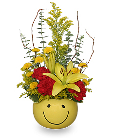 Put On A Happy Face! Bouquet in Kingsland, GA | KINGS BAY FLOWERS