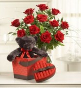 Abundant Love Valentine's Arrangement LOCAL AREA ONLY