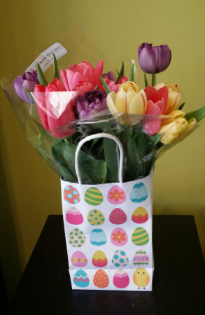 A Bag Of Tulips! Cut flowers