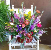 Burst of Beauty  Basket Arrangement