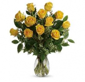 A Beauti in Yellow Floral Design