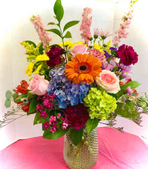 A Beautiful Day  in Derby, CT   THE PETAL PUSHER FLORIST