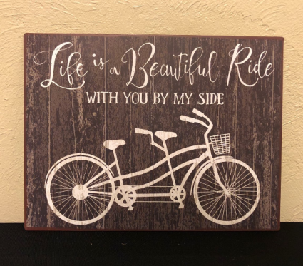 A Beautiful Ride... Metal Wall Art