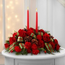 A blessed Christmas centerpiece Christmas