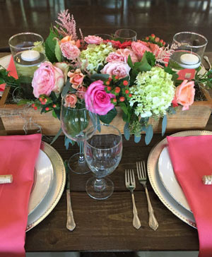 A Box of Pretty Centerpiece in Stonewall, MB | STONEWALL FLORIST
