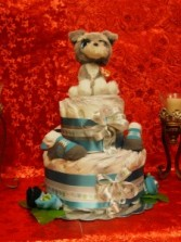 A Boy's Best Friend Cake