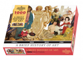 A Brief History of Art Puzzle from The Unemployed Philosophers Guild