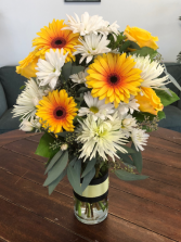 A Brighter Day Vase arrangement